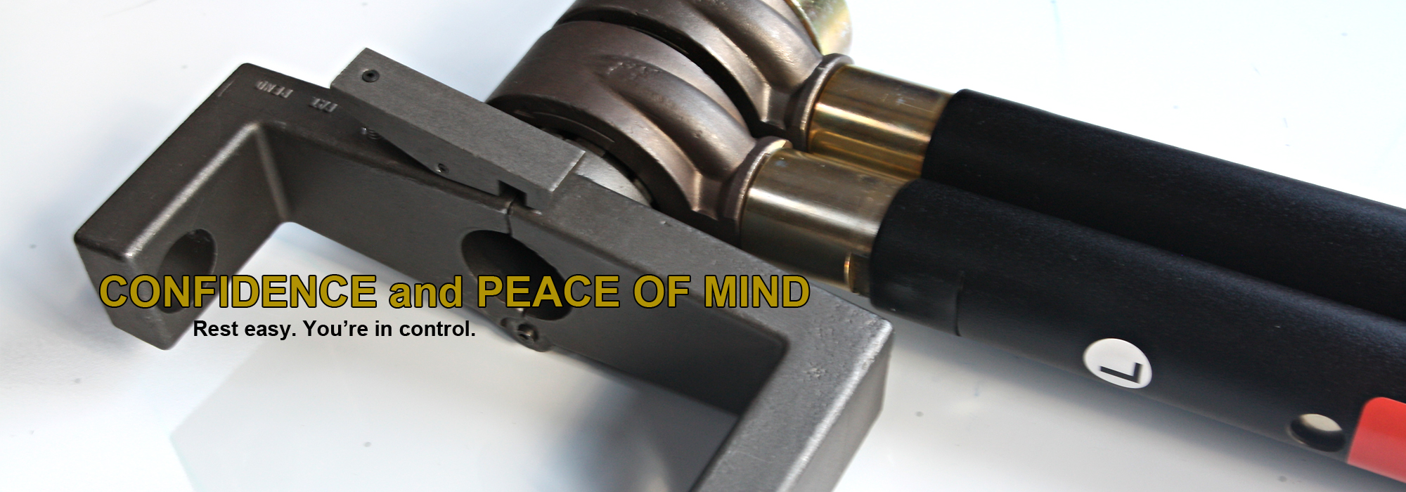 E-Z RATCH™ provides confidence and peace of mind.